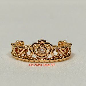 BRAND NEW Princess Tiara Crown Ring 180880CZ-54
